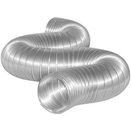 Conduit flexible en aluminium, 4 po x 8 pi thumb