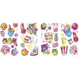 Applique murale peler et coller, Shopkins thumb