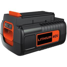 Bloc d'alimentation de 40 V au lithium-ion thumb