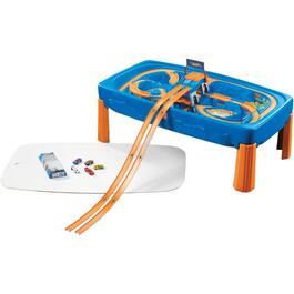 Ensemble de jeu de table Hot Wheels, piste et voitures thumb