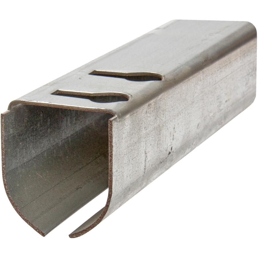 Coulisse Porte De Grange rail arrondi de calibre 14 pour porte de grange, 10 pi