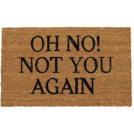 "Paillasson de 18 po x 30 po en fibre de coco ""Not You Again"" thumb"