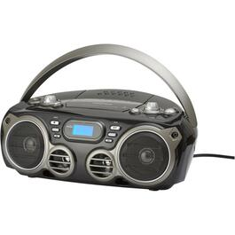 Radio/lecteur CD Boombox Bluetooth portatif thumb