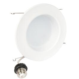Luminaire à encastrer de 5 po à 6 po à DEL de 10 W à intensité variable, blanc doux thumb