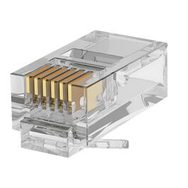 Paquet de 50 connecteurs multibrins standard Cat5e/RJ45 thumb