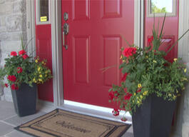 Here's How to paint your front door