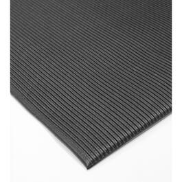 Tapis de plancher anti-fatigue noir, 3 pi x 5 pi thumb