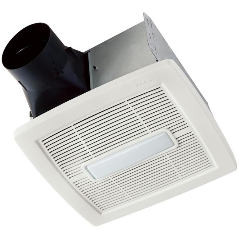 Ventilateur de salle de bains collection Invent avec lumière ...
