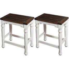Paquet de 2 tabourets de bar de 24 po Bourbon County thumb