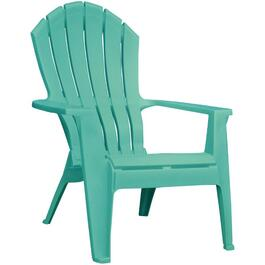 Chaise empilable ergonomique Adirondack, aqua thumb