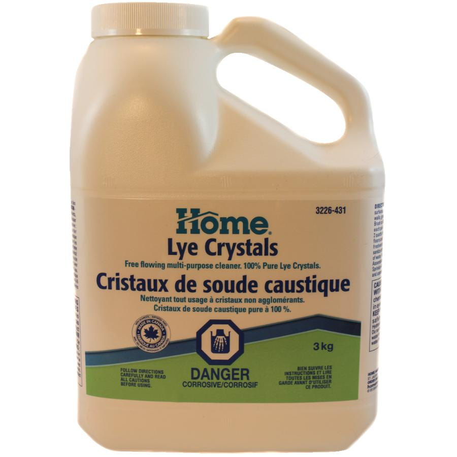 Cristaux De Soude Nettoyage cristaux de soude caustique pure, 3 kg home | home hardware