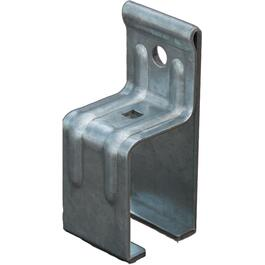 Support de rail simple pour porte de grange thumb