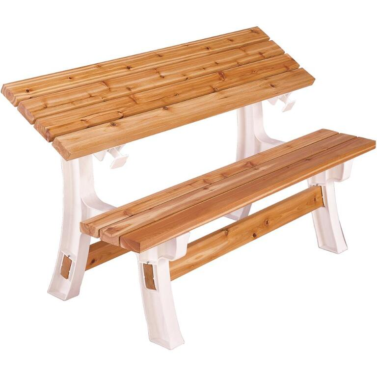 Ensemble De Base Banc Et Table Transformable 2x4 Basics
