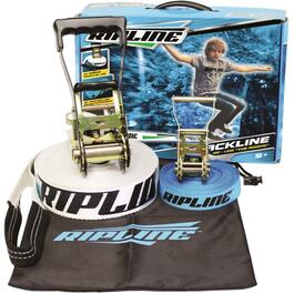 Sangle Slackline avec sangle d'assurance, 40 pi thumb
