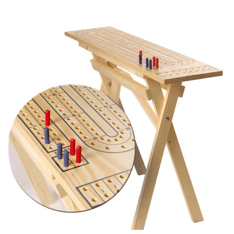 Planche De Cribbage De Table En Pin Pour Lextérieur Country Comfort