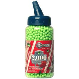Paquet de 2000 plombs, vert clair, Air Soft, 6 mm, 12 g thumb