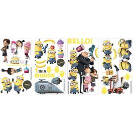 Applique murale peler et coller, Minions thumb