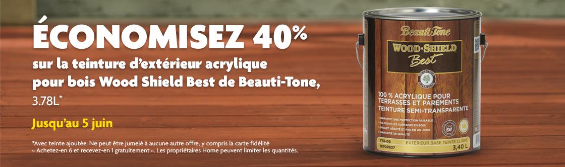 Peintures Beauti Tone Home Hardware