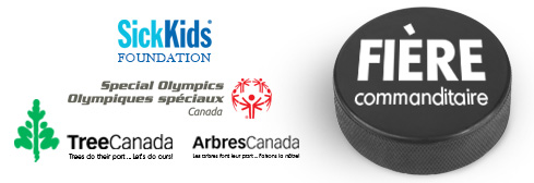 Special Olympics Olympiques spéciaux Festival, Sick Kids Foundation, Tree Canada Arbres Canada Proud Sponsors