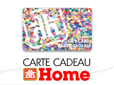 Carte-cadeau Home french