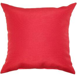 "16"" Square Red Throw Pillow thumb"