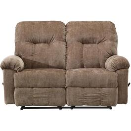 Ares Mineral Space Saver Reclining Loveseat thumb