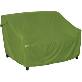 "66"" x 28"" x 27.5"" Green Loveseat Cover thumb"