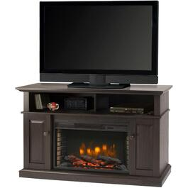 "48"" Rustic Brown Delaney Media Fireplace thumb"