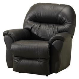 Charcoal Grey Leather Match Bodie Power Rocker Recliner thumb