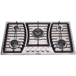 "36"" Stainless Steel On/Off-Grid Gas Cooktop thumb"