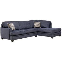 2 Piece Navy Sofa Sectional thumb