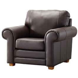 Brown Coffee Impala Leather Chair thumb