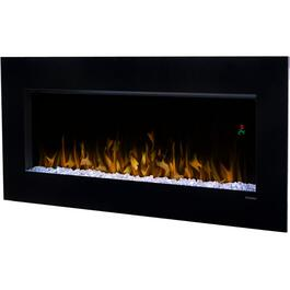 "43"" Black Nicole Wall Mount Electric Fireplace thumb"