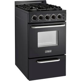 "20"" Black Classic Plus Convection Gas Range thumb"