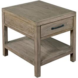 Cadet Grey Glasgow Rectangular End Table thumb