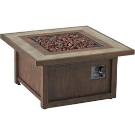 "34"" Fauxwood Propane Firepit Table thumb"