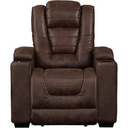 Badlands Walnut Solana Power Recliner thumb