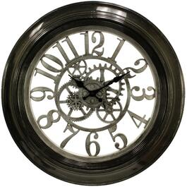 "20"" Round Dial Gear Wall Clock, Assorted Styles thumb"