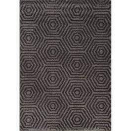8' x 11' Boulevard Soft Grey Geometric Area Rug thumb