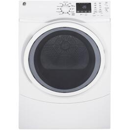 7.5 cu. ft. White Steam Dryer thumb