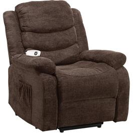 Myst Chocolate Rainer Power Lift Recliner thumb
