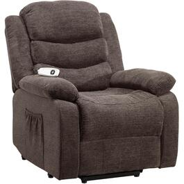 Myst Charcoal Rainer Power Lift Recliner thumb