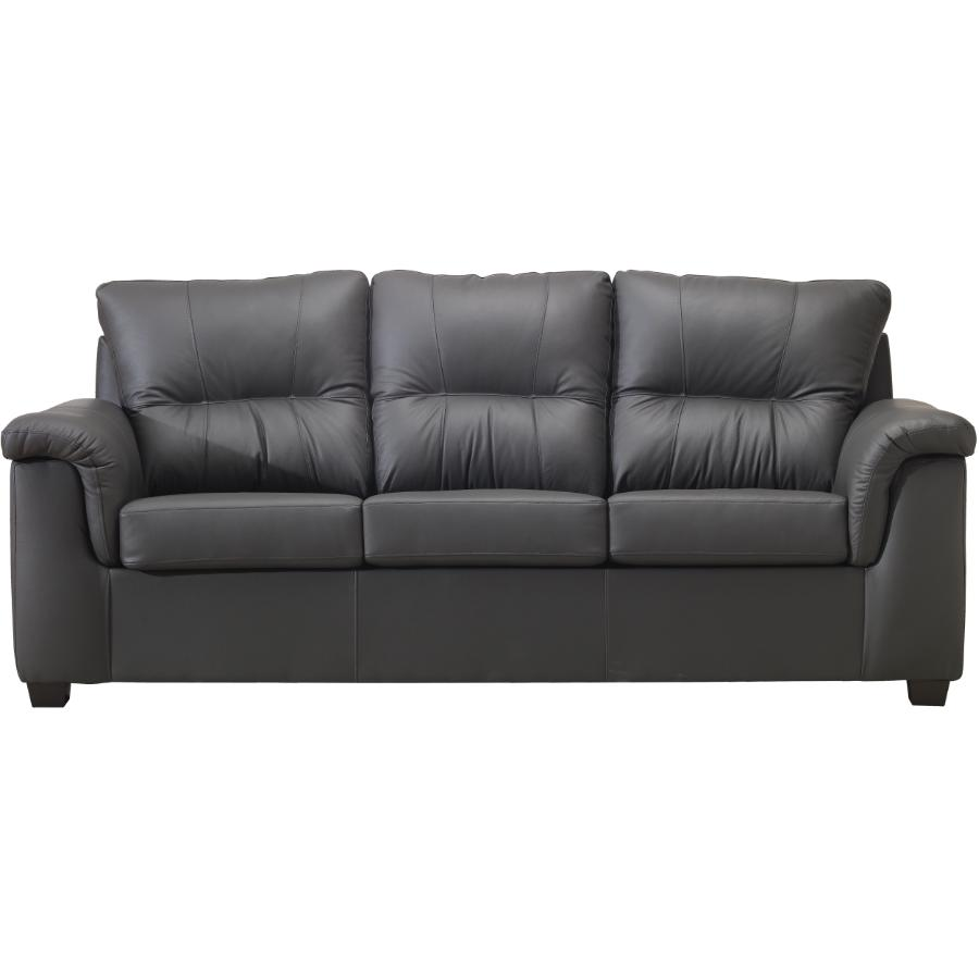 Clay Madras Leather Match Sofa