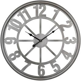 "24"" Metal Bleeker Wall Clock thumb"