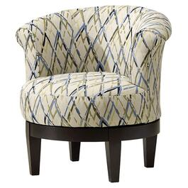 Attica Spring Accent Swivel Chair thumb