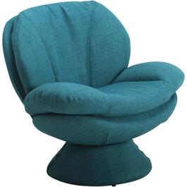 Rio Turquoise Pub Accent Swivel Chair thumb