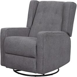 Elanor Popstitch Metal Swivel Recliner thumb