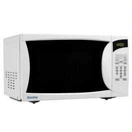 700 Watt .6Cu.Ft. White Countertop Microwave Oven thumb