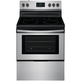 "30"" Stainless Steel Smooth Top Electric Range thumb"