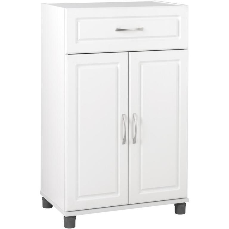 SYSTEM BUILD:Kendall Storage Cabinet - White, 24""